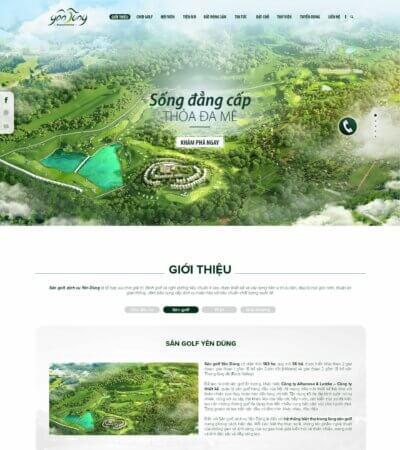 2. Giới thiệu sân golf