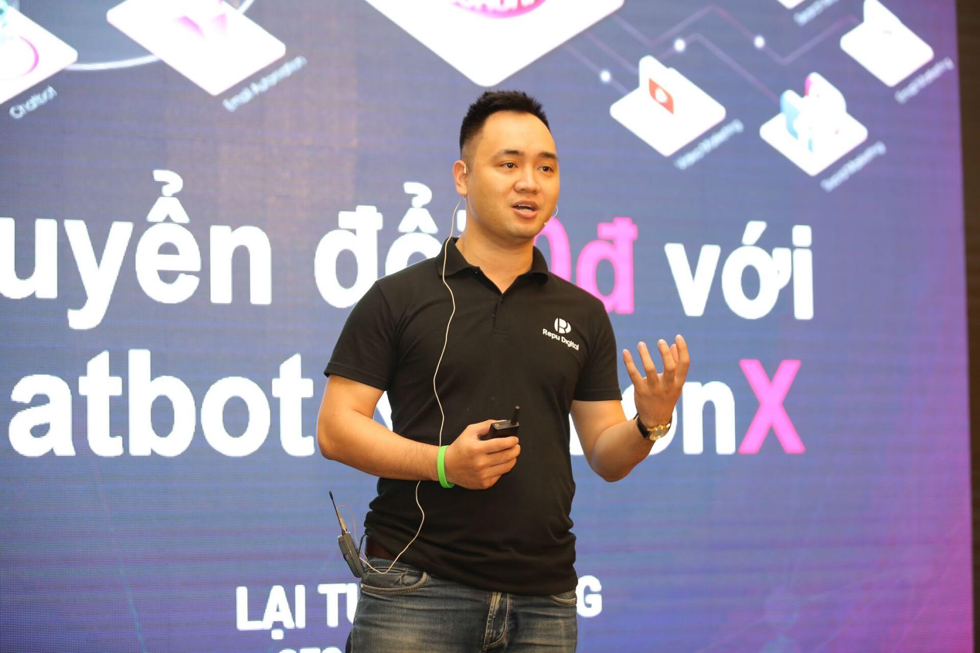 Lại Tuấn Cường - CEO & Founder Repu Digital