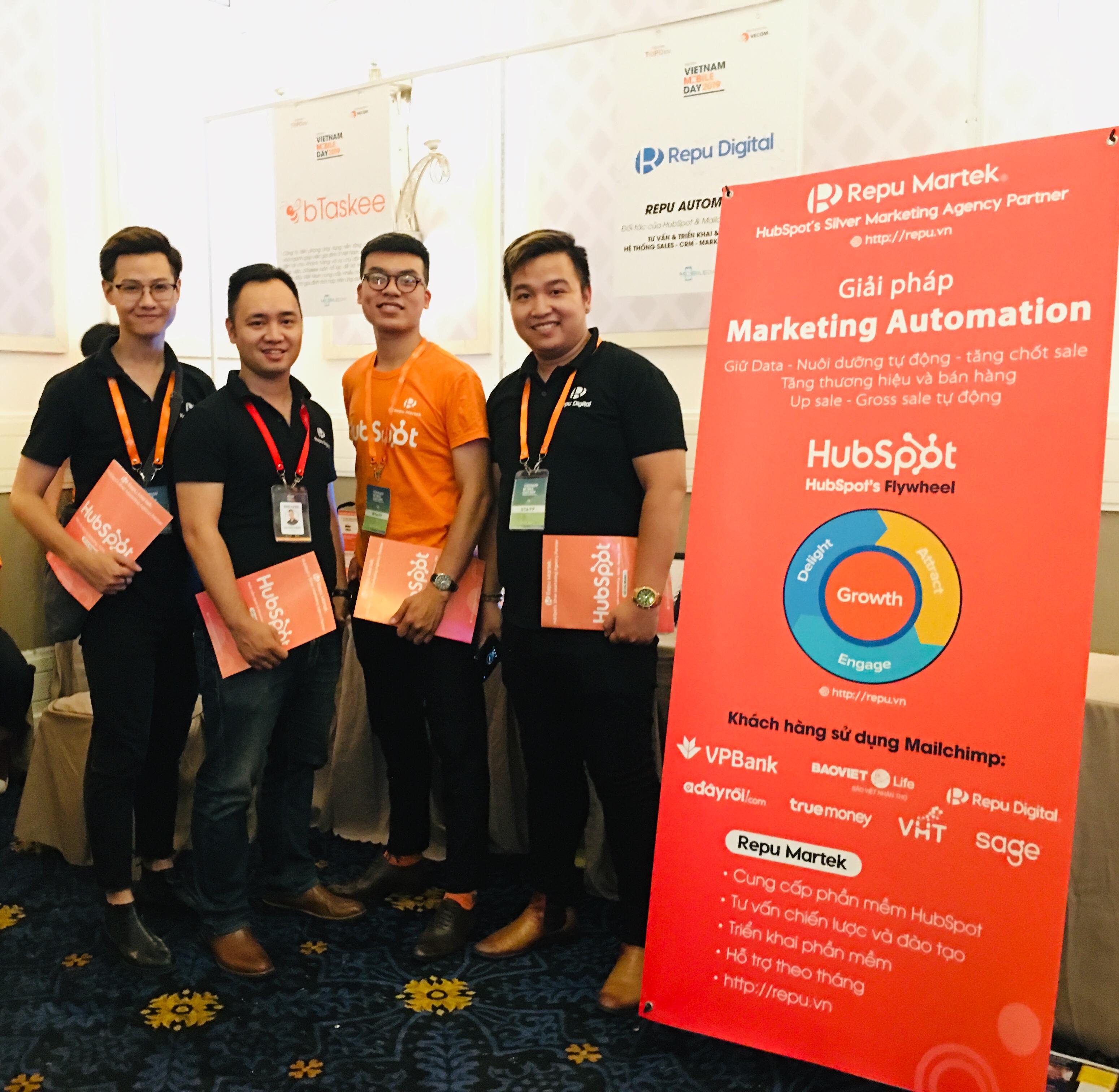 HubSpot và Repu Digital tại Vietnam Mobile Day 2019 - Ảnh 01