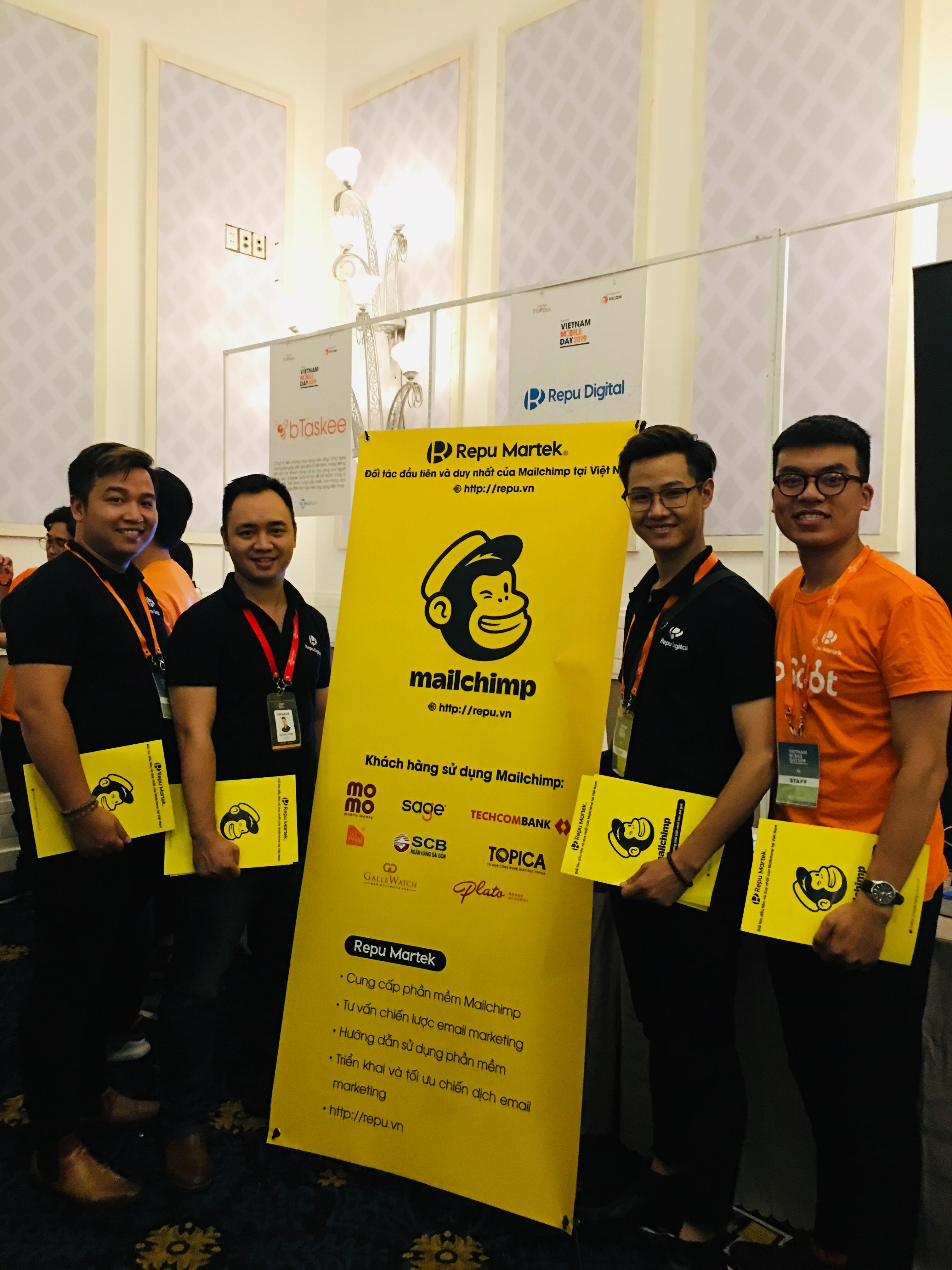Mailchimp và Repu Digital tại Vietnam Mobile Day 2019 - Ảnh 01
