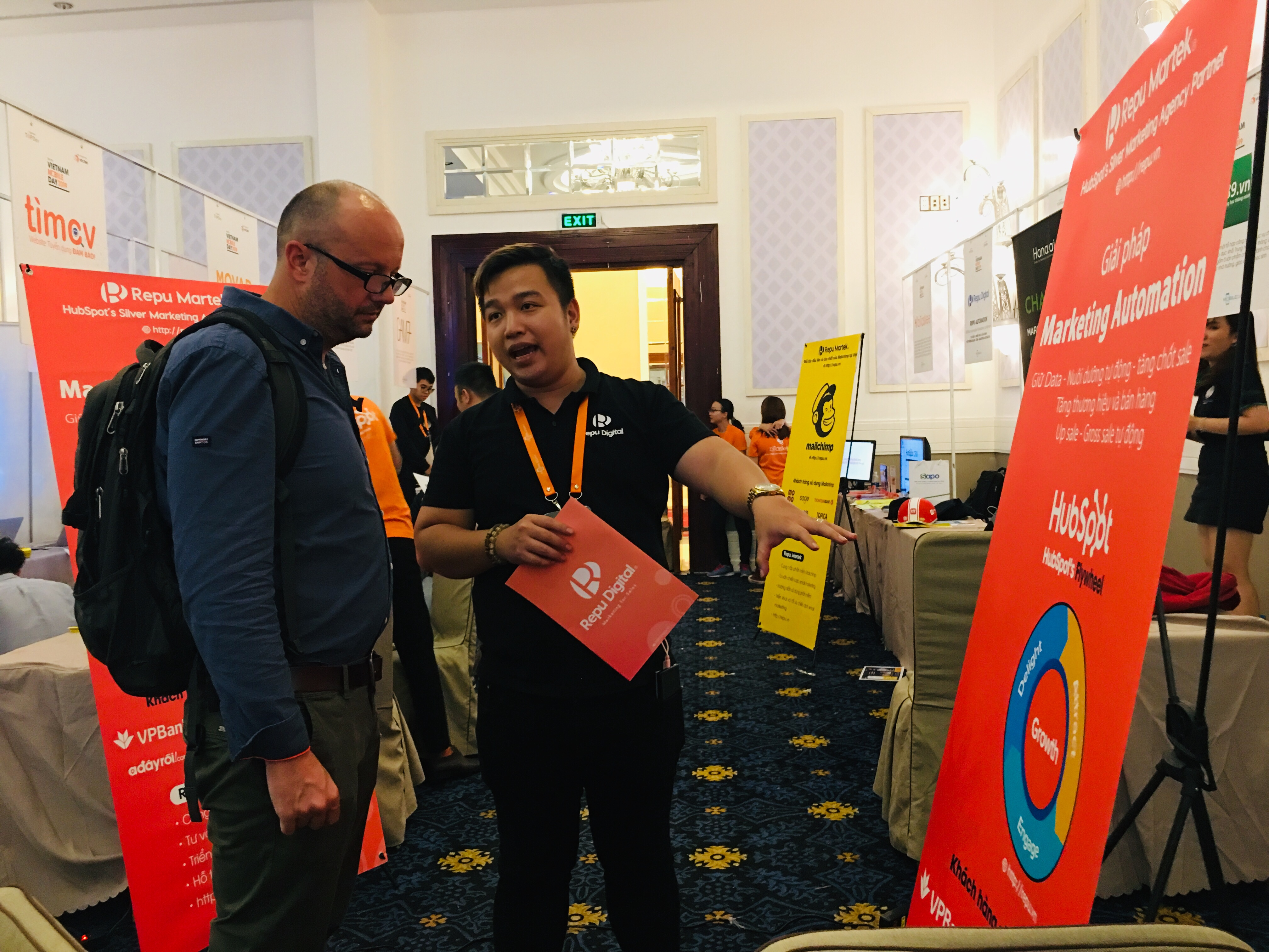 HubSpot và Repu Digital tại Vietnam Mobile Day 2019 - Ảnh 02