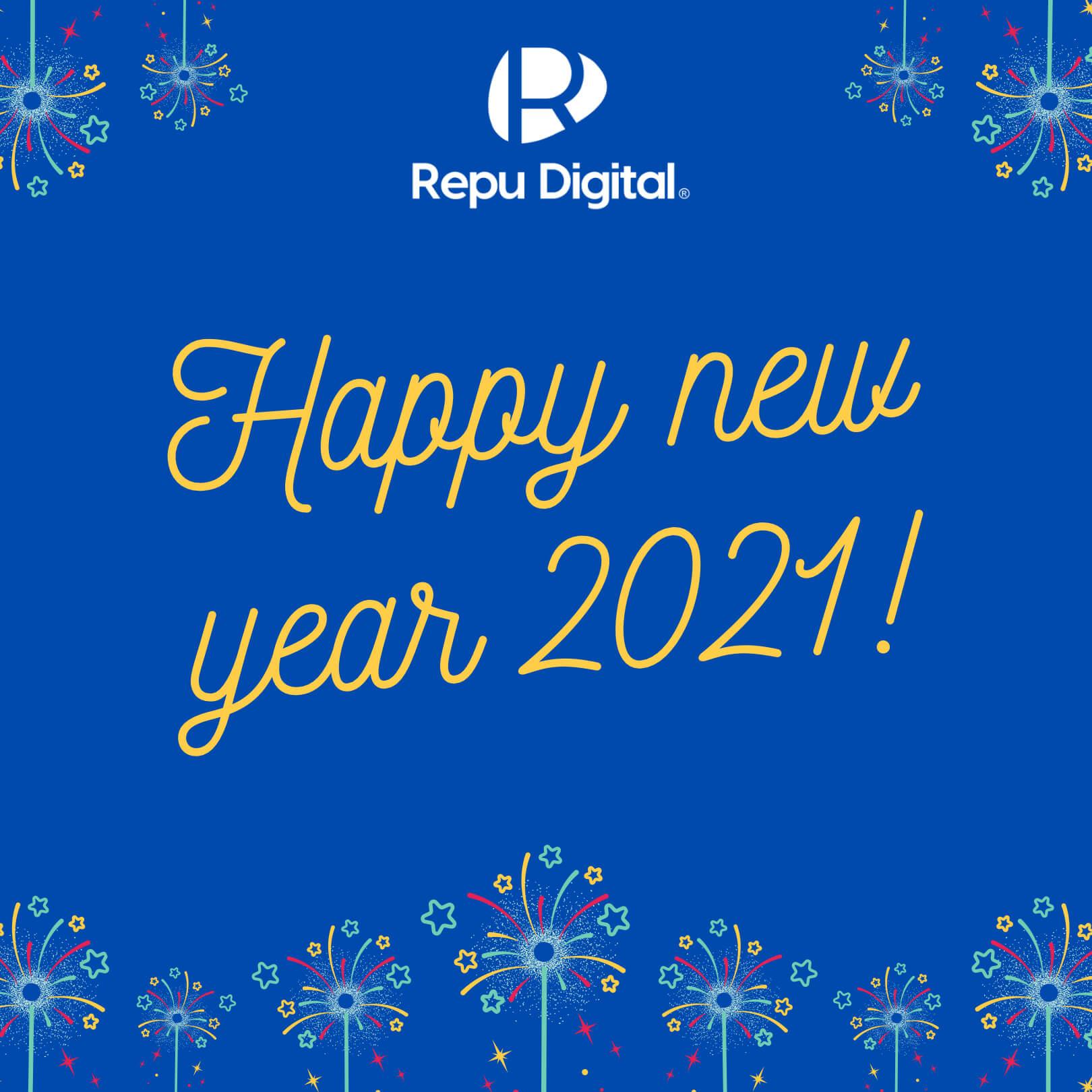 Chúc mừng năm mới 2021!